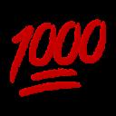 1000 emoji