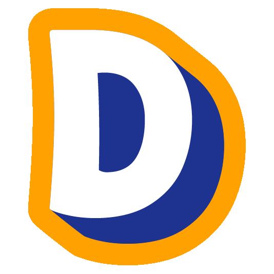 alphabet-white-d emoji