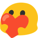 blobheart emoji