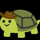 cowboy-turtle emoji
