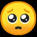 pleading emoji