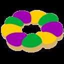 king cake slack emoji