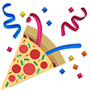 pizza party slack emoji