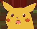 surprised pikachu slack emoji